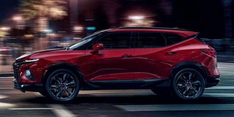Технические характеристики Chevrolet Blazer
