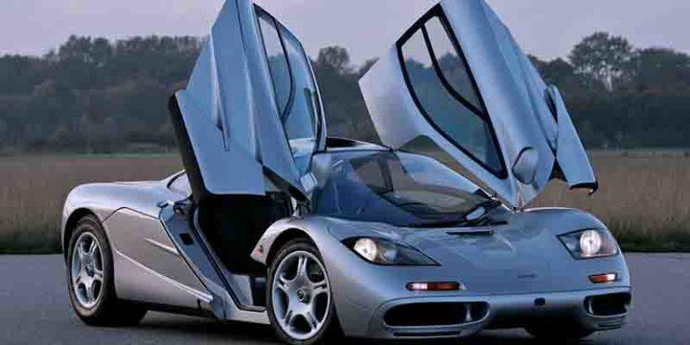 самые быстрые автомобили McLaren F1