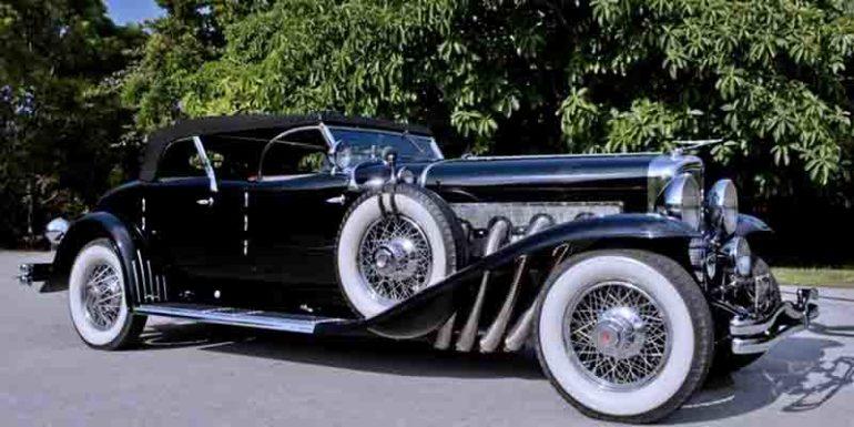 самые быстрые автомобили Duesenberg Model J