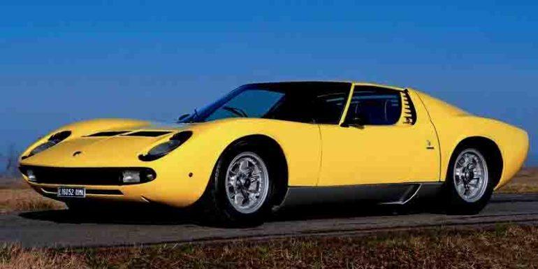 самые быстрые автомобили Lamborghini Miura