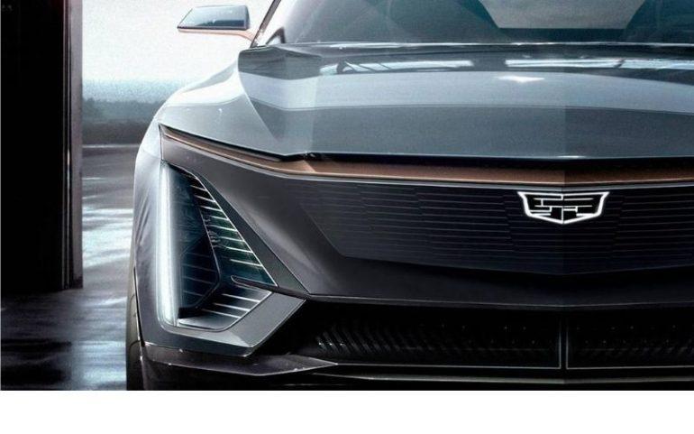Новый электрический внедорожник Cadillac Lyriq