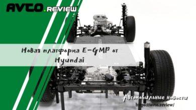 Photo of Новая платформа E-GMP от Hyundai