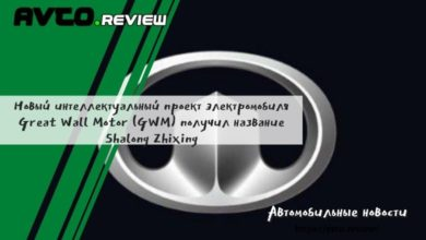 Photo of Новый интеллектуальный проект электромобиля Great Wall Motor (GWM) получил название Shalong Zhixing