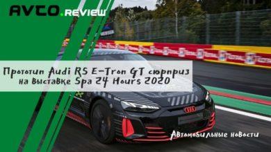 Photo of Прототип Audi RS E-Tron GT сюрприз на выставке Spa 24 Hours 2020